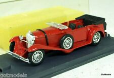 VEREM 1/43 - 302.17 MERCEDES SS TORPEDO - RED DIECAST MODEL CAR