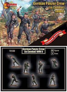 Mars Figures 72122 German Panzer Crew (in combat) (WWII) 1/72  - W/O BOX -