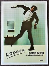 David Bowie - Lodger - Advertising Mini Poster
