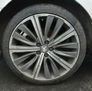 2014 PEUGEOT 508 SINGLE 19 INCH GT ALLOY WHEEL WITH 245/35ZR19 TYRE