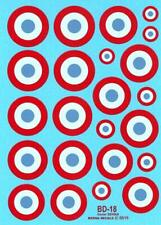 Berna Decals 1/48 FRENCH AIR FORCE ROUNDELS 23mm to 26mm