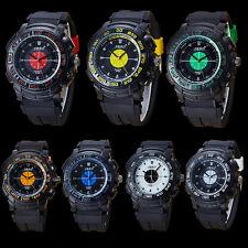 Luxury Mens Watch Stainless Steel Sport Analog Quartz Repeater Dress Wrist Watch