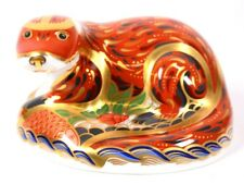 Royal Crown Derby Imari Paperweight Silver Stopper Circa 2001  00004000