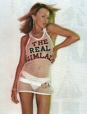 KYLIE MINOGUE 'the real slim lady'  magazine PHOTO / mini Poster 9x7 inches
