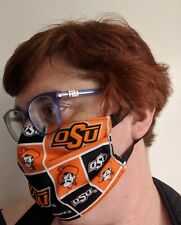 Oklahoma State Face Mask - All Sizes - Handmade