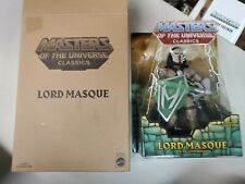 New ListingMasters Of The Universe Classics Motuc Lord Masque Sealed Worldwide Nib