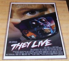 John Carpenter's They Live 11X17 Movie Poster Roddy Piper Keith David