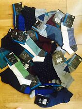 20 pairs mix colour high quality Men's Designer Trainer Liner Ankle Socks HYGTFR