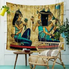 Egyptian Painting Tapestry Africa Retro Wall Hanging Blanket Beach Towels Exotic