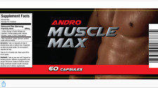 Andro Muscle Builder -Legal Test-Best Priced-Proven Results-muscle gain-Best Buy