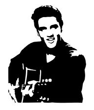 Elvis vinyl car Decal / Sticker