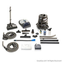 Reconditioned E series E2 Blue Rainbow Vacuum w/ Prolux Storm and Genuine Power