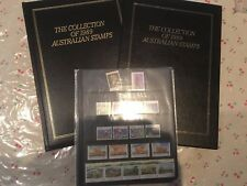 1989 Australian Post YearBook Album Stamps - Executive Leather Black Edition