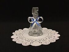 Quinceanera 15's Glass Crystal Bells Favors Decoration