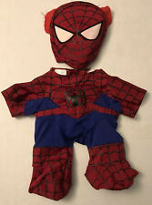 Build a Bear Spiderman Teedy Outfit Mask Costume Marvel Superhero Outfit