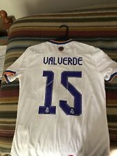 real madrid jersey white gold | eBay