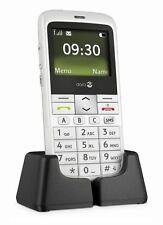 Doro PhoneEasy 332gsm White Weiß 332 Senioren Handy Ohne Simlock NEU