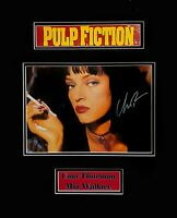Uma Thurman Pulp Fiction Original Autographed Photograph