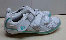Pearl Izumi Interface White/Green Road Bicycle Cycling 2-3 Bolt Women Shoe 6M 38