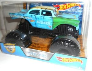 AVENGER 1:24 Monster Jam, Auto, Coche, Cars Hot Wheels, original vehicle