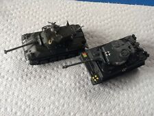 Vintage Pair ZYLMEX TANKS. T405 TYPE 61 and T408 TIGER 1.