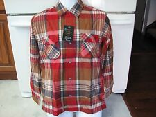 Penneys vintage flannel wool western shirt new with tags old stock 1960s Japan