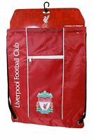 Liverpool FC Official Licensed Soccer Drawstring Cinch Sack Bag 001