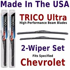 Buy American: TRICO Ultra 2-Wiper Blade Set fits listed Chevrolet: 13-19-18