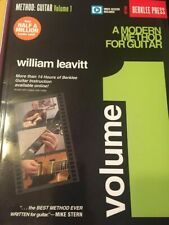 Guitar Instruction Books Lot of 3 items Berklee Method w/ video access
