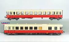 LS Models 10061 SNCF EAD X4500 2-tlg DieseltriebWagen rot/beige Ep3 1:87 NEU+OVP