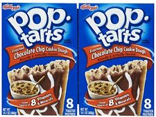 900679 2 x 400g BOXES OF POP TARTS FROSTED CHOCOLATE CHIP COOKIE DOUGH PASTRIES