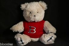 Burberry Teddy Bear in Red Sweater Plush Toy Doll