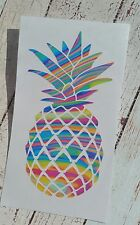Pineapple decal. Yeti RTIC decal 3.5 height Beach life Summer Lilly inspired