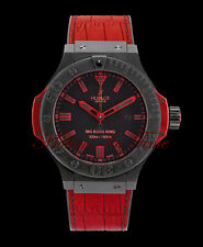 """Hublot Big Bang King 300m """"All Black-Red"""" 48mm Limited Edition 500 Pieces"""