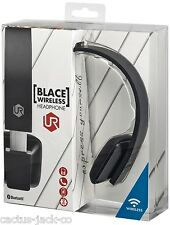 Ricaricabile wireless Bluetooth Blace Cuffie Nero per iPad iPhone Tablet PC