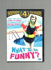 What's So Funny? (DVD) First Time Caller, Behind The Seams, Socratic Method, NEW