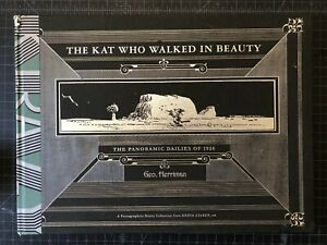 THE KAT WHO WALKED IN BEAUTY Panoramic Dailies NEW HC Krazy Ignatz 1st Printing