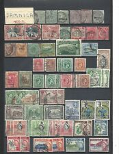 Jamaica small early Collection 110 stamps