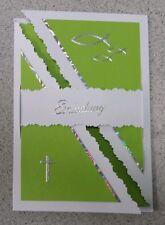 Einladungskarten / Danksagungen Danke Konfirmation / Kommunion (5 Stück) grün