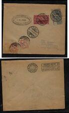 Italy  C4  J6,J7  cover to Torino  1926          SR0120