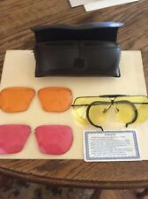 Decot Hy-Wyd Sport Glasses Shooting Sunglasses With Case, pre owned, lenses