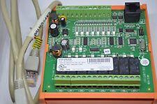 UNITRONICS I/O EXPANSION MODULE EX90-DI8-RO8  WHIT CABLE