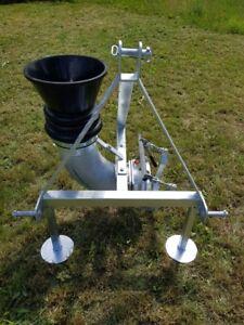 Andockstation 8 Zoll - kompl. - verzinkt - für Fronthydraulik - HJ Agrartechnik
