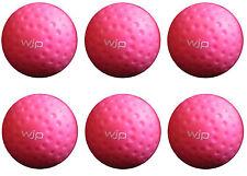 6 x WJP Sports Small (63mm Dia.) Pink Dimpled Throwdown Balls. BNIB, 3.5oz