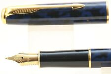 Vintage (1997) Parker Sonnet Midnight Blue Medium Fountain Pen, GT