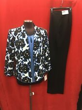 KASPER PANT SUIT/PLUS SIZE/NEW WITH TAG/SIZE 16W/TANK NOT INCLUDED/RETAIL$320