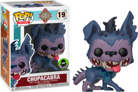 Exclusive Chupacabra Myths FUNKO Pop Vinyl New in Mint Box + Protector