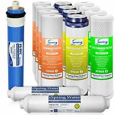 iSpring F15-75 2-Year Filter Replacement Supply Set For 5-Stage Reverse Osmos...