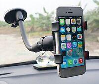 Support Noir Téléphone Portable 360°Rotation Support Universel De Voiture K002