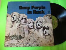 DEEP PURPLE - IN ROCK LP GREEN LABEL